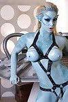 Big tits pornstar Victoria Summers is doing some fantastic cosplay