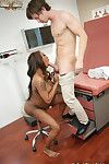 Pregnant black teen kayla ivy fucked by white doctors