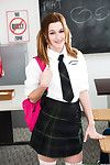 18yr old schoolgirl alaina dawson gets taped up in the classroom
