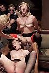 4 slutty anal slaves fuck their way through our raunchiest, kinkiest orgy of the