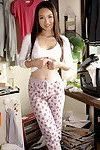 Slender and beautiful japanese teen pussy