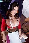 Coed fever with big boobed noelle easton