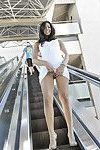 Public flashing nude in public and oops candid caught nip slips