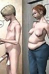 A pregnant girl doing a hung guy in these pics