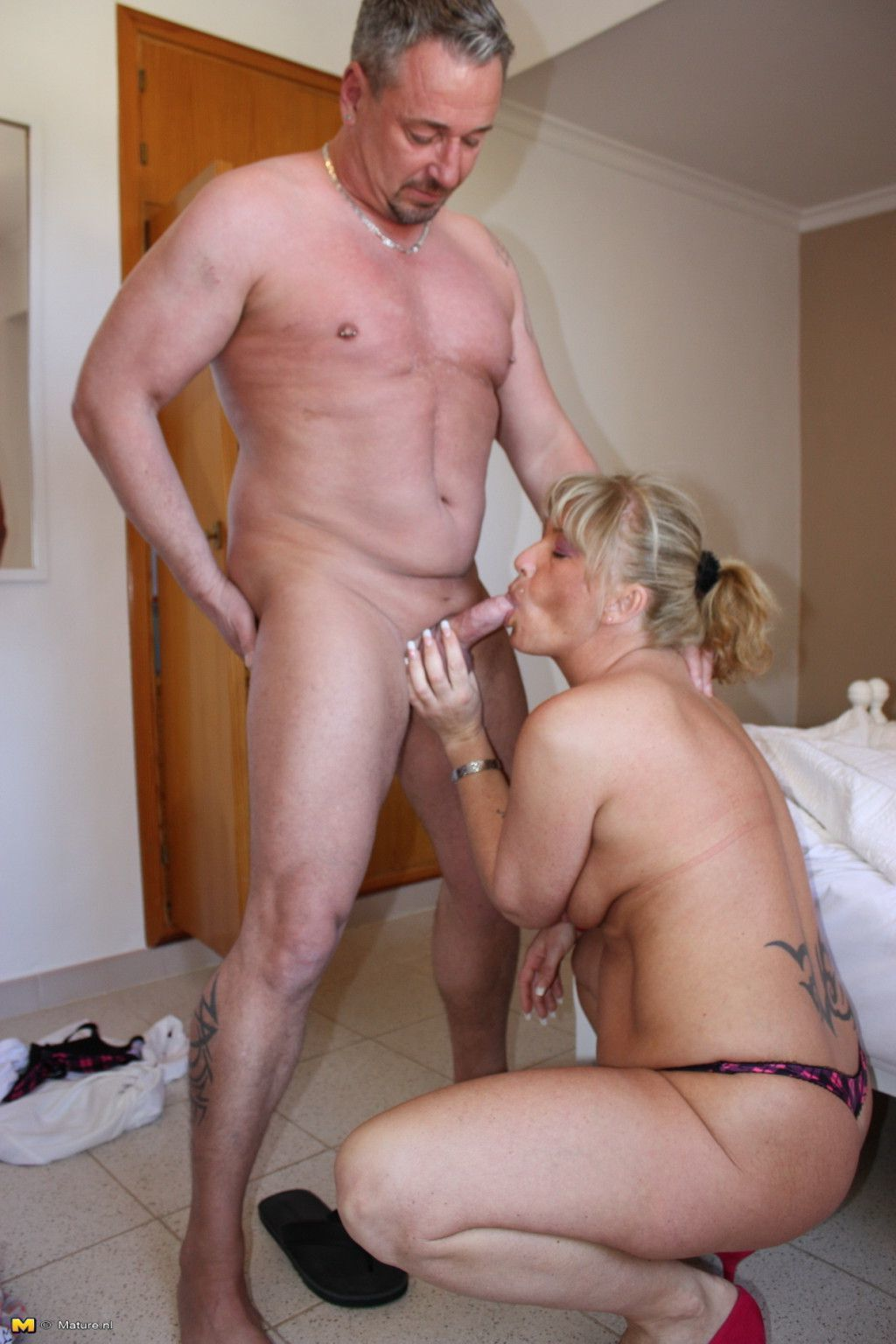 Bisexual German - Two bisexual german housewives share one guy