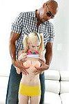Petite blonde teen Piper Perri taking hardcore interracial sex from BBC