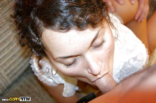 Amazingly wild coed purchases passionately shagged and jizzed over her abdomen