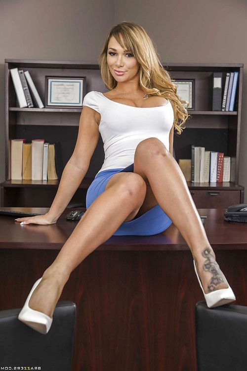 Schoolgirl with colossal mounds Destiny Dixon way in the office so appealing
