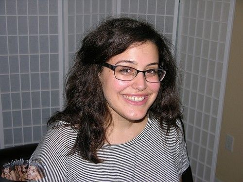 Glasses wearing juvenile amateur gives a jerking off pov cock masturbating