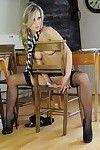 Schoolgirl disrobes exposed