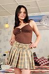 Boobsy nubile valeska tortures her shiny on top slit with a pine for appliance