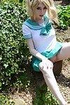 Japanese schoolgirl cosplay with jessica jensen