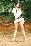 Mini bombita bailey in her untamed pirate suit with corset
