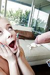 Amusing fairy-haired with dear face Maddy Rose digs in hardcore mode
