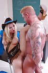 Massive tit fairy schoolgirl Holly receives dug with that chubby wang