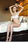 Golden-haired girl Nancy A revealing mammoth youthful billibongs for glamour photo expand