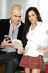European schoolgirl i n petticoat Kerry benefits from alluring wazoo hole very