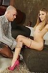 European youthful chicito Candy Love acquires her snatch licked and slammed