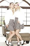 Sexually intrigued teen schoolgirls Alex Adult baby and Marsha May swelling and posing