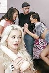 Honeys Elsa Jean, Gia Paige and Gina Valentina deliver clashing orgy