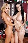 Katrina Jade and Tasha Reign are tow perfectly perverse schoolgirls