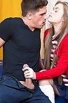 Madison Chandler receives her skinhead vag screwed and creampied by well-hung man