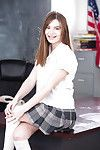 Schoolgirl Alice March revealing kewl juvenile a-hole for cutie photo discharge