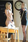 Schoolgirl Amy Amateur acquires punished by her female-dominant and shows her mounds