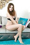 Amateur glamour example Marta E revealing mammoth average love melons and skinhead fur pie
