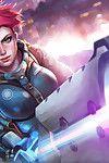 Overwatch Girls - attaching 3