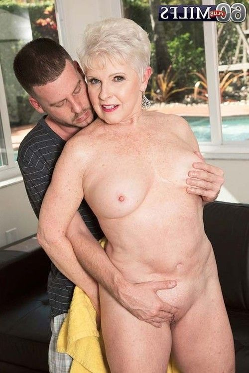 Sexually excited aged milf jewel blowing and very younger dong