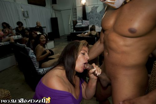Teen and placid gals are keen to CFNM munch with boy stripper