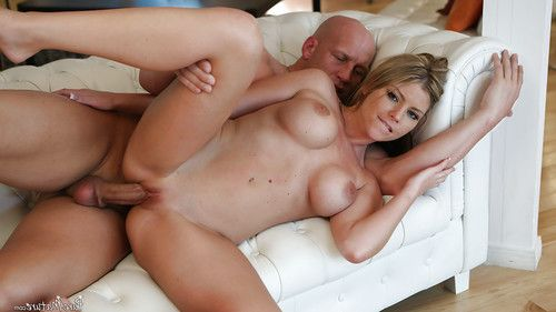 Rounded golden-haired Brianna Brooks was drilled in her accurate-looking love-cage
