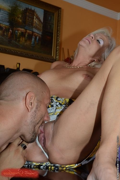 Fairy-haired older Anett attains huge amount of  on her immense front bumpers