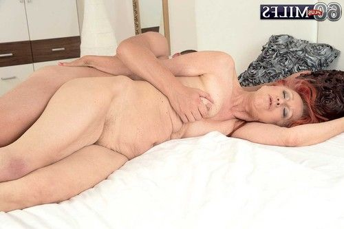 Appealing 60milf charlotta having a adolescent penis to fuck