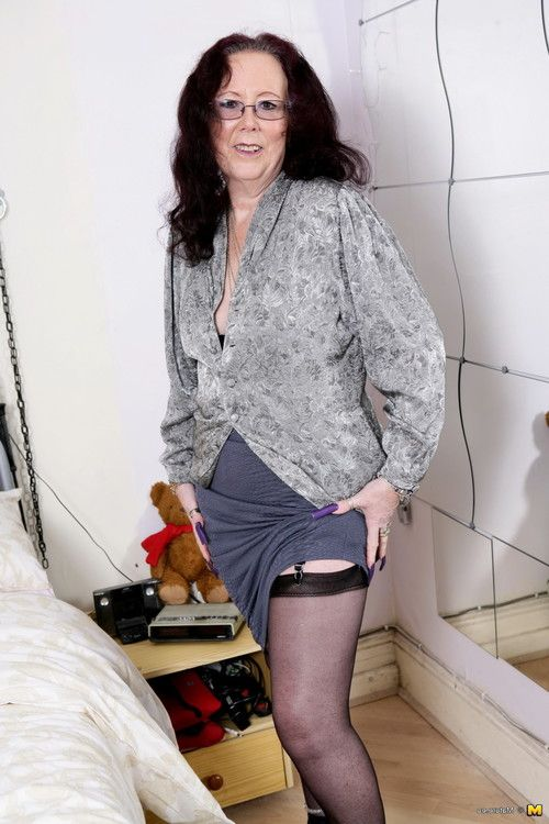 This british mommy into to have fun with her implement