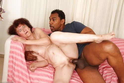 Swarthy dude is smoking lustful redhead Marcelina in her smooth head slit