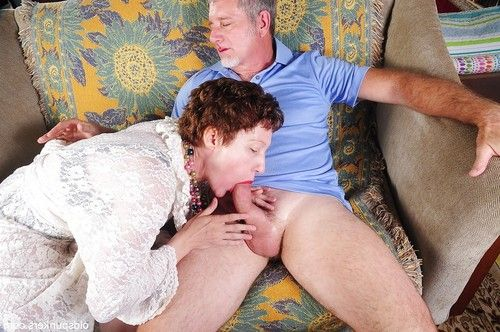 Curly-haired example older Dalny obtains a precious pink jock in throat