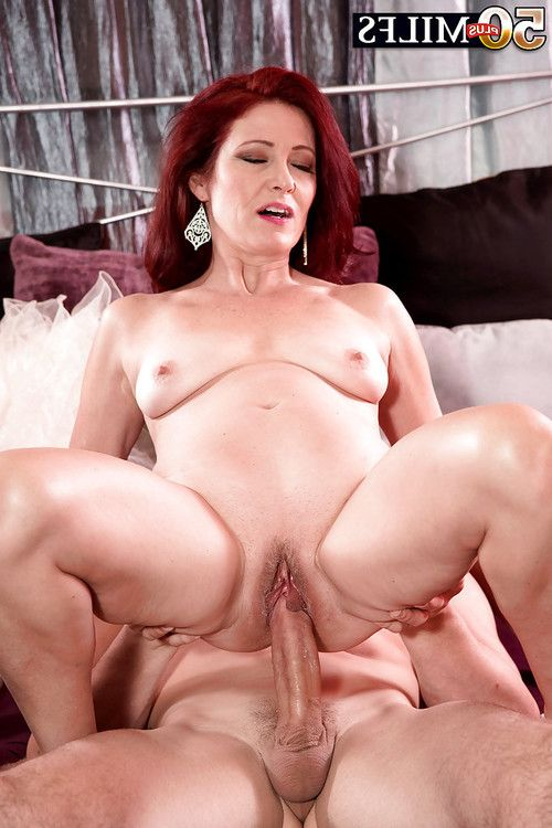 Little boobed seasoned redhead Dana Devereaux grand hardcore facial spunk fountain