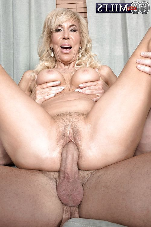Boobsy blonde gran Erica Lauren rides pecker cowgirl style despite the fact hardcore fucking action