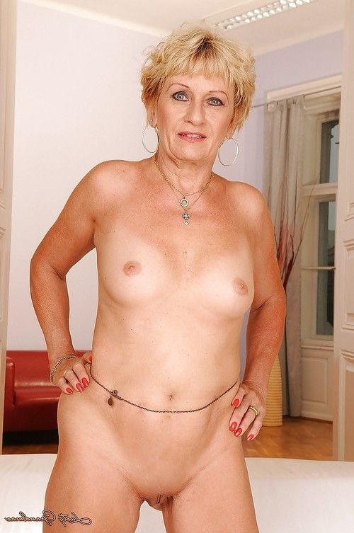 Fairy elderly with diminutive titties erotic dance and exposing her fuckable body