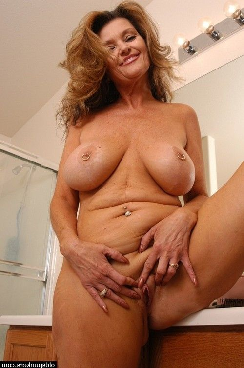 Ready lady with large meatballs and hairless cum-hole caught undressed in baths
