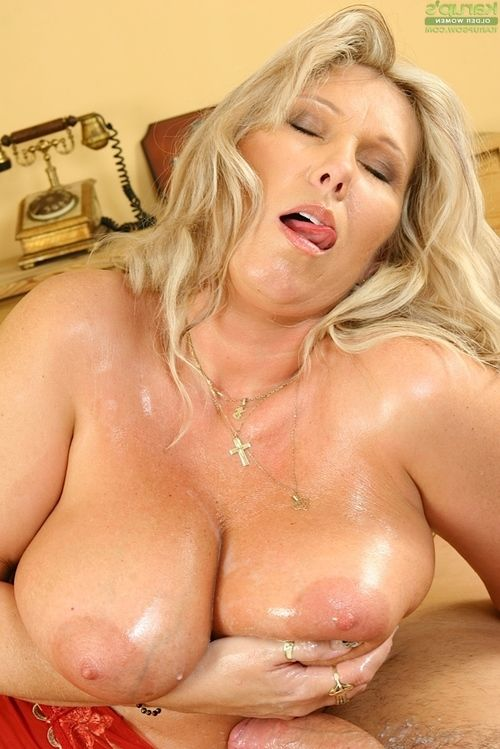 Fatty mamacita obtains owned and obtains her massive love melons glazed with moist sperm