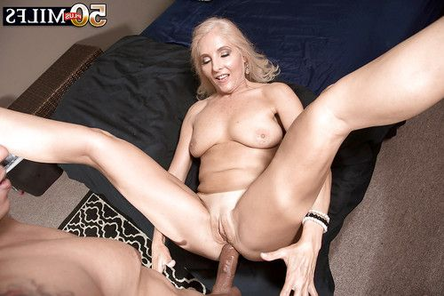 Over Fifty fairy MILF Chery Leigh lovely hardcore backdoor love making act in high heels