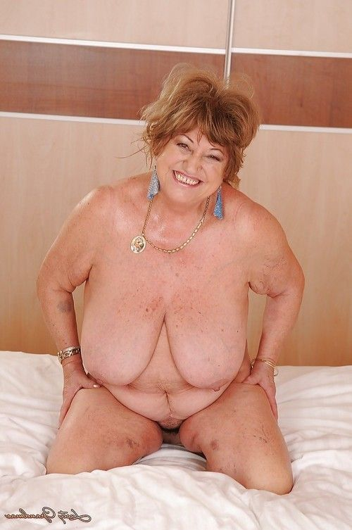 Fatty ripened with raw limber jugs fascinating off her underware on the sofa