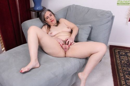 Tube ensconced elderly Lexy Lou exposing mammoth wobblers during the time that undressing