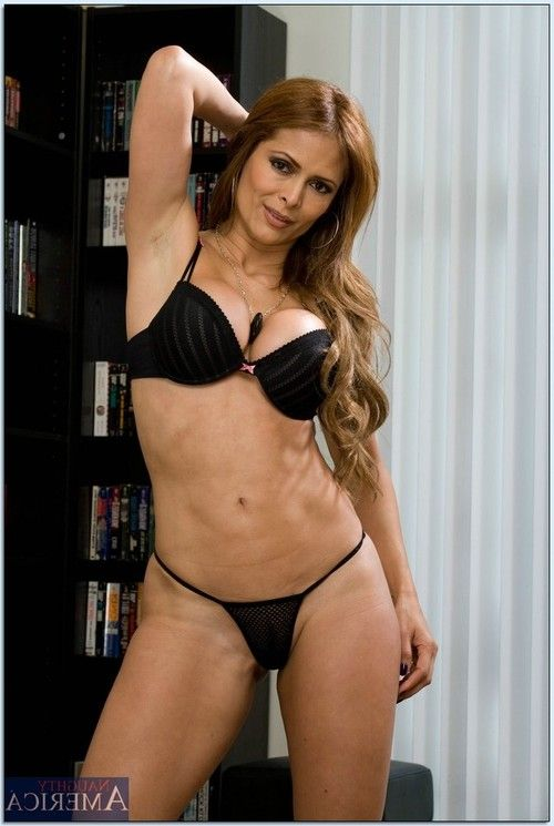 Breasty latin hottie Monique Fuentes showing off her shapely mellow body