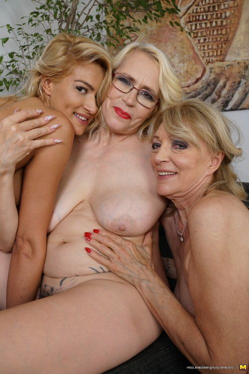 3 old and juvenile lesbian cuties making out and then some