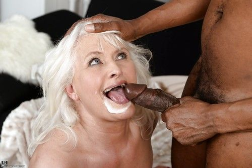 Obese established Judi hammering huge brown weenie while hardcore interracial sexual act