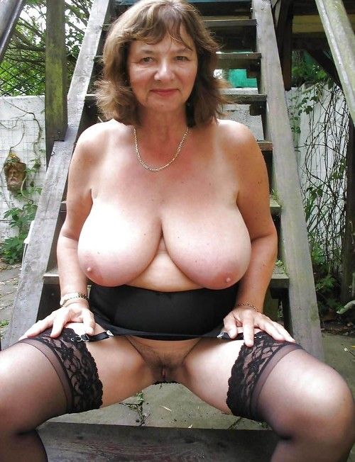 Old young grannies with massive breasts